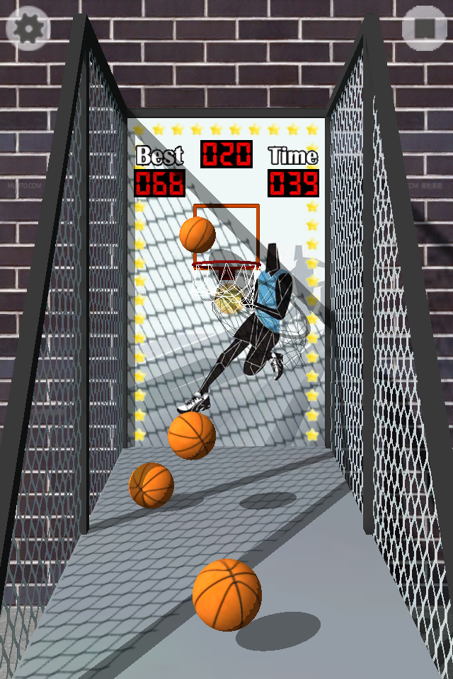 Screenshot 3D Basket Free
